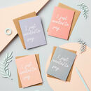 'Just To Say' Cards Set Of Eight