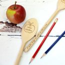 Thank You Teacher Personalised Wooden Spoon
