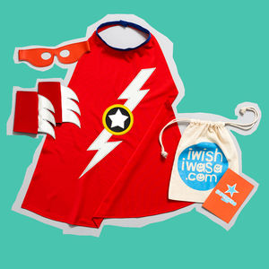 Superhero 'Lightening Bolt' Costume Gift Set