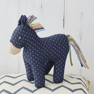 Cuddly Horse Baby Toy