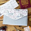Over The Moon Cat Travel Wallet