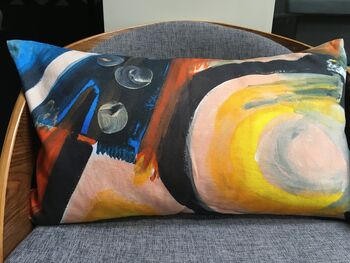 Dance No Il Hand Painted Cushion