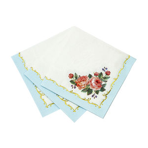 Vintage Style Floral Paper Napkins - sale by category