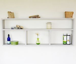 Wall Mounted Storage Unit - shelves