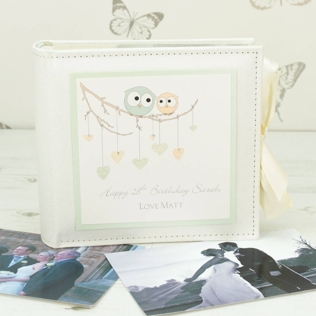 Personalised Owl Special Occasion Photo Album