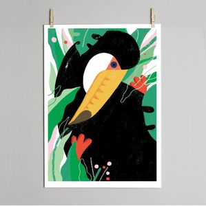 Toucan Fine Art Print - modern & abstract