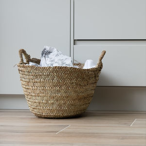 Musango Sturdy Storage Baskets - natural materials