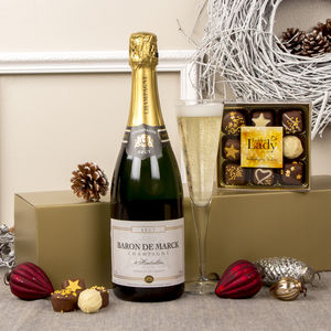 Champagne And Chocolates Gift - chocolates & confectionery