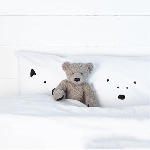 Bears Pillowcase - children's room