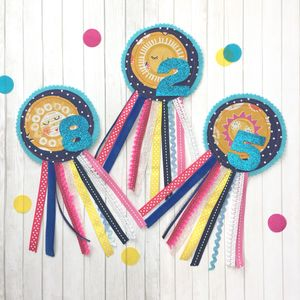 Sunshine Birthday Rosette - children's jewellery