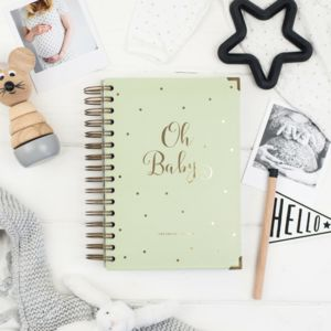 Weekly Pregnancy Journal And Self Care Diary - gifts for mums-to-be