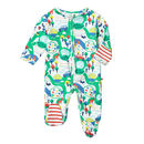 Rainbow Farm Baby Sleepsuit