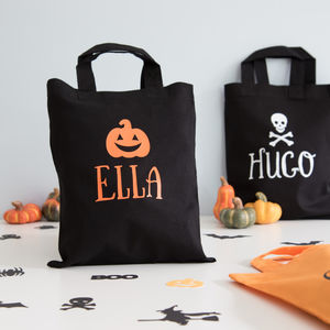 Halloween Personalised Trick Or Treat Goody Bags