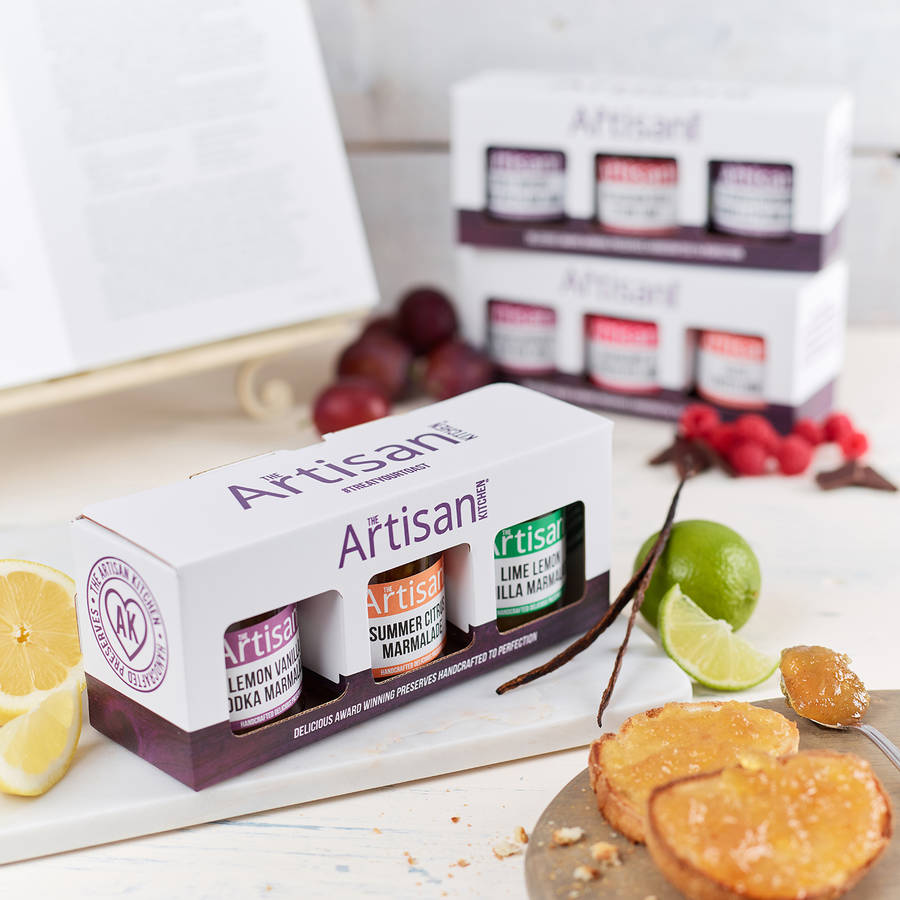 Artisan Marmalade Gift Box Collection
