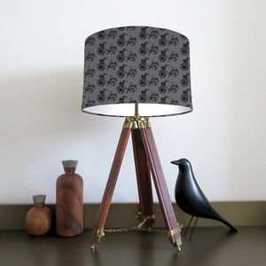 Bike Lampshade Mix And Match - lamp bases & shades