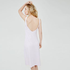 Flattering Nightdress In Luxuriously Soft Fabric - women's fashion