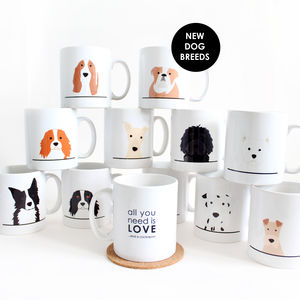 Personalised All You Need Is Love..And A Dog Mug - pet-lover