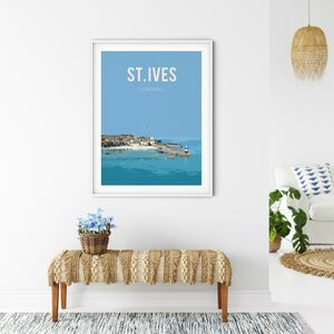 St Ives, Cornwall Fine Art Travel Poster