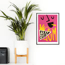Fish And Chips Print