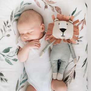 Carson The Lion From Birth Soft Toy - new baby gifts