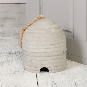 Concrete Bee Hive Doorstop - what's new