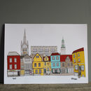 Norwich Buildings Illustration Print