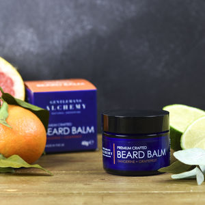 Tangerine And Grapefruit Citrus Beard Balm 40g