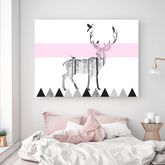 Northern Deer, Canvas Art - prints & art