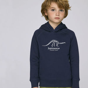 Personalised Brontosaurus Sweatshirt - children's tops