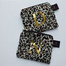 Personalised Leopard Print Change Purse