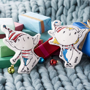 Personalised Elf - gifts for babies