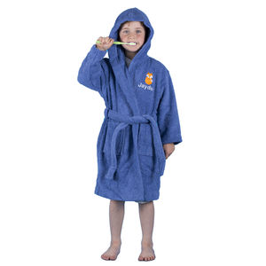 Personalised Childrens Hooded Bathrobe - bath robes