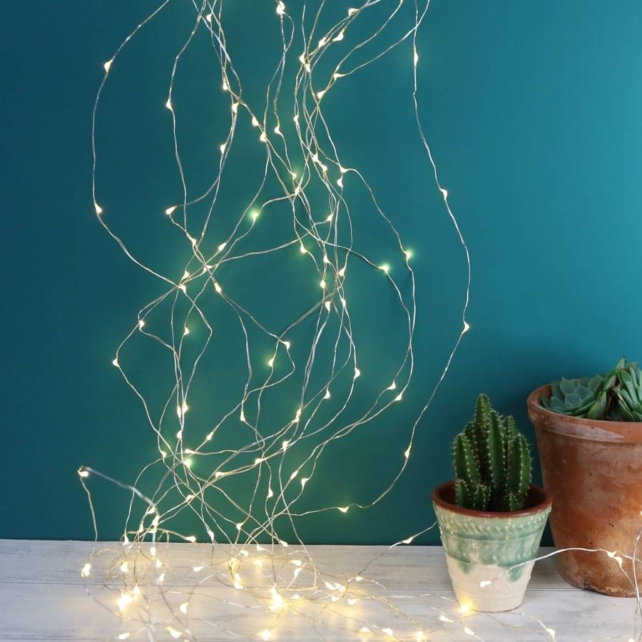 copper wire waterfall string lights 320 led by lisa angel homeware gifts. Black Bedroom Furniture Sets. Home Design Ideas