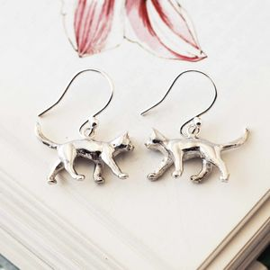 Cat Earrings - earrings