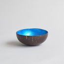 Coco Bowl, Turquoise Blue