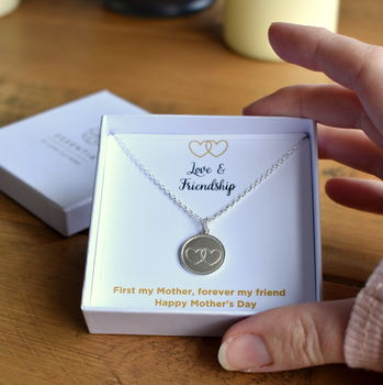 Mother's Day Love And Friendship Necklace