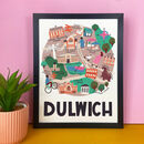 Dulwich Illustrated London Map