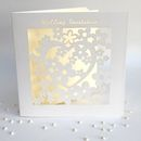 Wedding Invitations Heart Laser Cut Pack Of Six