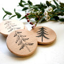Woodland Tree Rubber Stamp