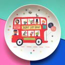 Personalised Bus Baby Birth Plate