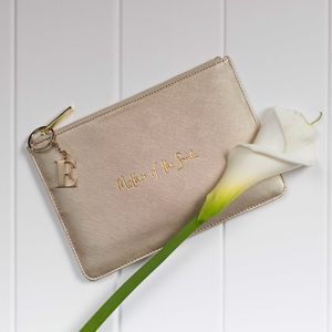 Personalised 'Mother Of The Bride' Perfect Pouch