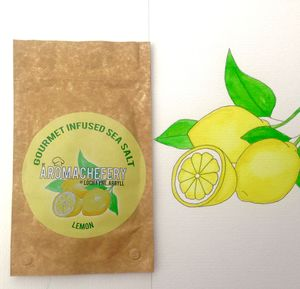 Lemon Gourmet Sea Salt - food gifts