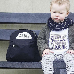 Personalised Rucksack - children's accessories