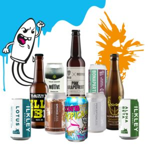 Eight Mixed Craft Beers And Ferment Magazine - beer & cider