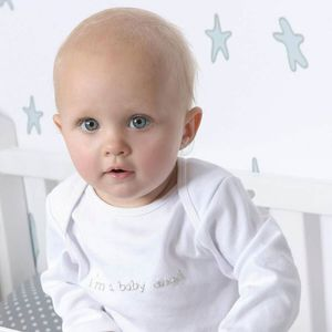 Angel Wings Babygrow - baby shower gifts