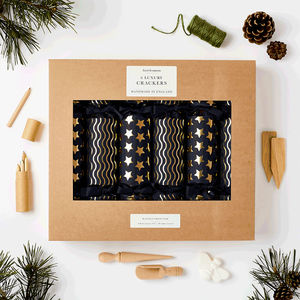 Luxury Navy And Gold Crackers - new in christmas