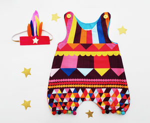 Baby Festival Romper - trousers & leggings