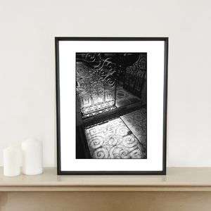 Eglise De Saint Gervais Photographic Art Print