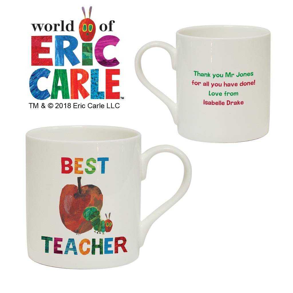 46284c0bc3c the very hungry caterpillar personalised teacher mugs by british and ...