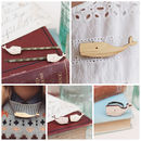 Wooden Laser Cut Whale Jewellery